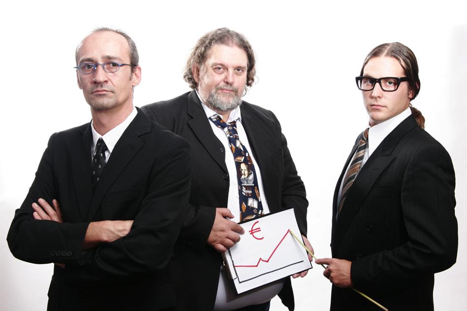 Horst Hahn, Maximilian Huber, Paul Eisenkirchner